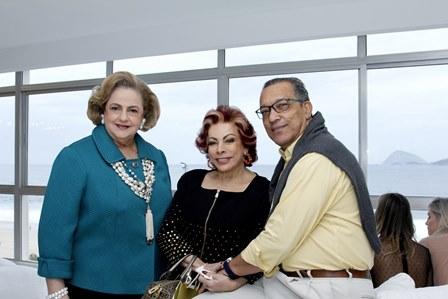 Cristina Aboim, Bia Veloso e Amaro Leandro