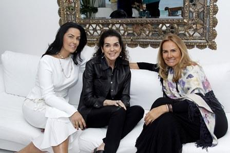 Adriana Carvalho, Beth Accurso e Elisa Marcolini