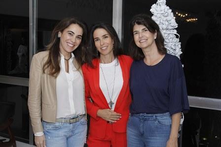 Rita Zecchin, Cristina ROtondaro e Viviane Grabowsky