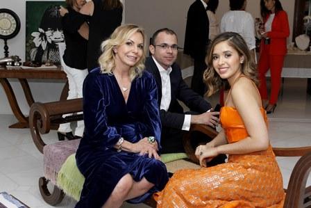 Nina Kauffmann, Cleriston e  Layla Fonseca