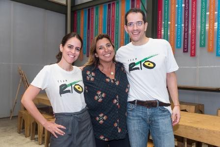 Paula Bezerra de Mello Maria Vargas e Ricardo Zaroni