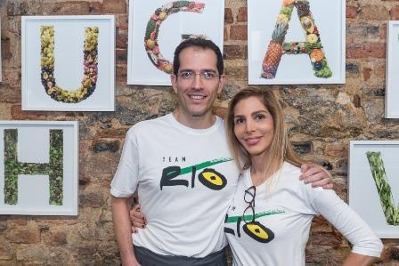 Ricardo Zaroni e Cristiana Kastrup
