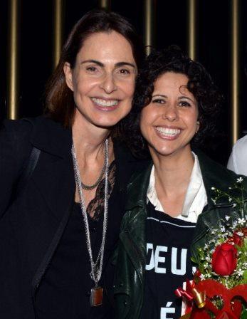 Silvia Pfeifer e Cássia VillasBôas