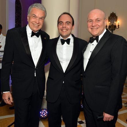 Volney Pitombo , Antônio Paulo Pitanguy Muller e seu pai Paulo Muller