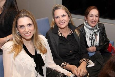 Ana Paula Cola, Marta Vieira e Itana Goulart