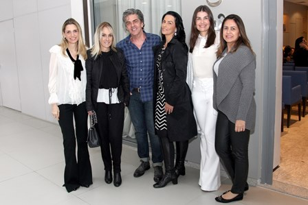 Ana Paula Cola, Shirley Sobotka, Manoel Thomaz Carneiro, Adriana Almeida e Liliane Santiago e Patricia Arantes