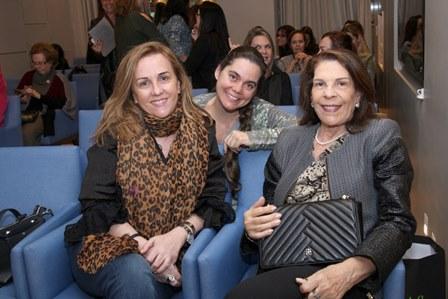Lucinha Amorim, Cristina Martuscelli e Vera Lucia Gonzaga
