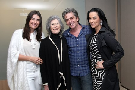 Liliane Santiago, Gisela Amaral, Manoel Thomaz Carneiro e Adriana Almeida