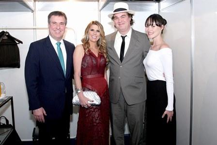 Gustavo e Danielle Brigagão e Daniel Jobim e Natália Carvalho