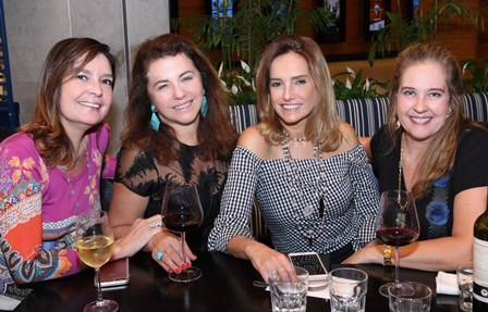 Alice Barbosa Lima, Martha Isaksen, Georgia Buffara e Juliana Barcellos