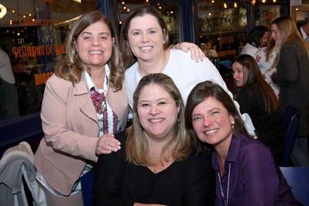Regina Simoes,  Catia Bomeny,  Regina Simoes e Erica Pinto