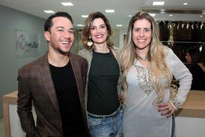 Vinicius Belo, Jacke Helud e Bruna Barros