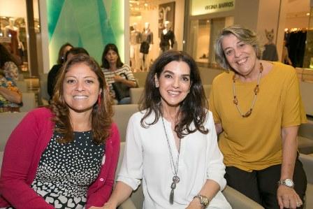 Carolina Heleno, Beth Accurso, Gilda Palhares