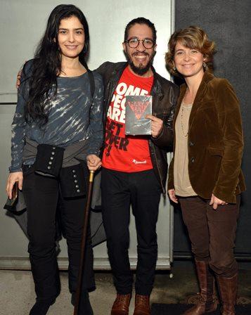 Letícia Sabatella , Jean Wyllys e Claudia Abreu