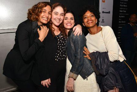 Camila Pitanga , Debora Lamm ,  Isabel Gueron e Cris Moura