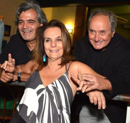 João Miranda, Patricia Secco e Edgard Rocha