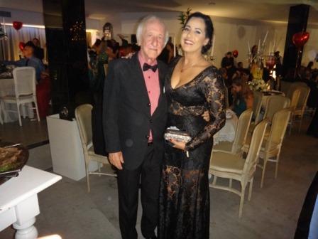 José Carlos Pedreira e Bianca Pedreira