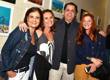 Kátia d'Avillez, Patricia Secco, Catito Peres e Teresa Freire