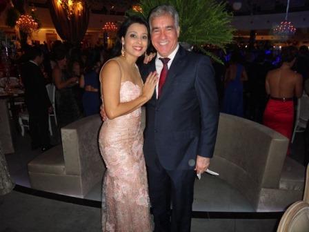 Naiana e o deputado Zé Neto