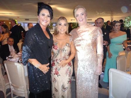 Ozana Machado Barreto, Luci Andrade Silva e Maria de La Salete Souza