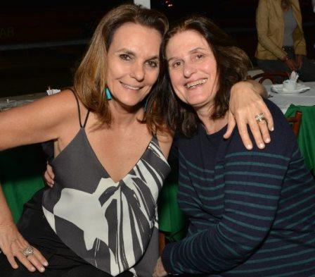 Patricia Secco e Anna Accioly