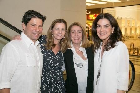 Pedro Werneck, Priscila Bentes, Kiki Gouvêa, Beth Accorso