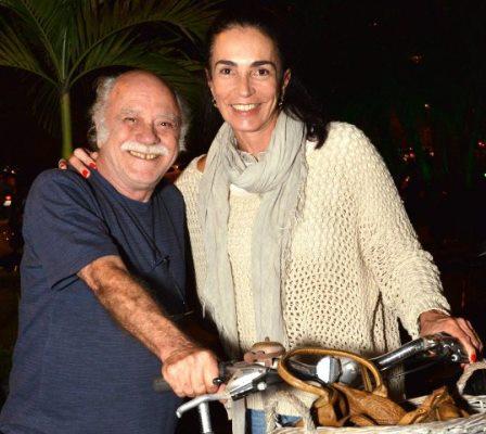 Tonico Pereira e Maria Isabel Barroso Salgado (a Isabel do vôlei)