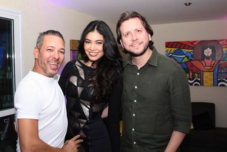 David Santiago, Sheislane Hayalla e Thiago Greco