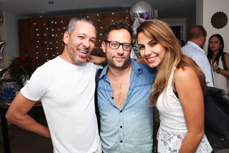 David Santiago, Matthew Cooper(Produtor) e Marianna Rattes