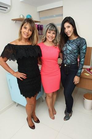 Claudia Oro, Jéssica Zarro e Gabrielle Oro