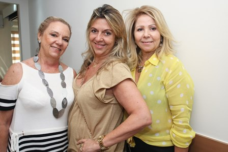Salete Jardim, Leila Regina Esposito e Catia Garrido