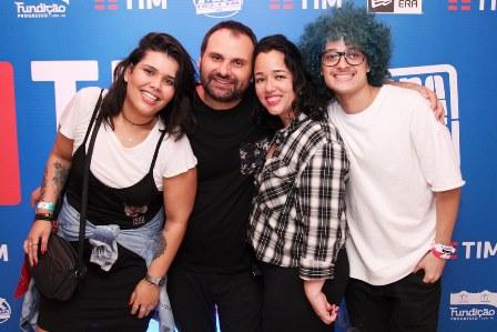 Thaiane Teodoro, Miguel Afonso, Luciana Bastos e Jota P