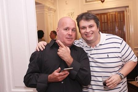 Eder Meneghine e Claudio Castro