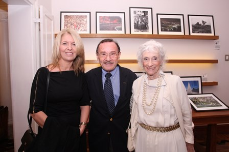 Andrea Lopes, George Irmes e Deyse Lioy