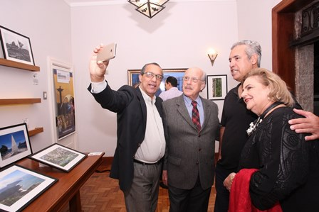 Amaro Leandro, Claudio Aboin, José Olimpio e Cristina Aboim