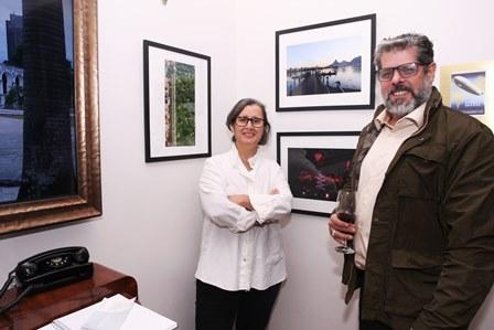 Cristina Lacerda e José António Macdowell