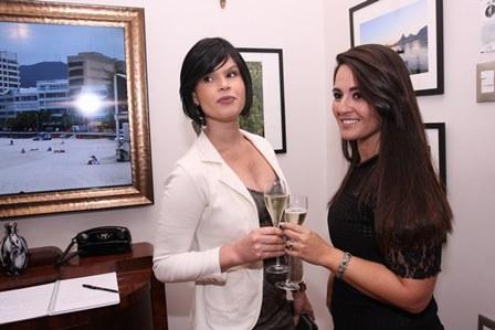 Michele Gome e Rafaela Fernandes