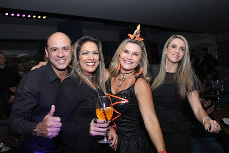 Marcelo Antunes, Bia Bottini, Karla Edde e Carol Panizza