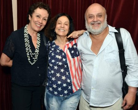 Analú Prestes, Stella Miranda e Mario Borges