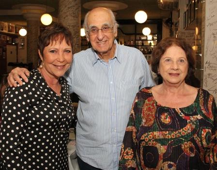 Belisa Ribeiro, Zuenir e Mary Ventura