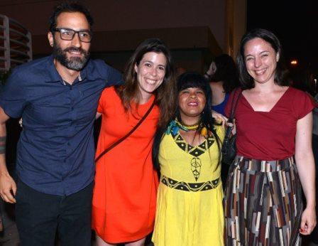 Bruno Jorge, Mariana Oliva, Sônia Guajajara e Renata Terra