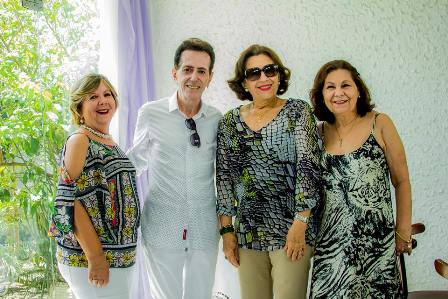 Célia Cerqueira, Pitombo, Denise Caribé Teixeira de Freitas e Maria Aparecida Carneiro dos Santos Almeida