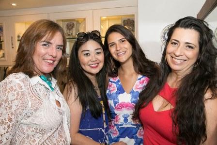 Claudia Rodrigues, Monica Nakamura, Bella e Ana Torres