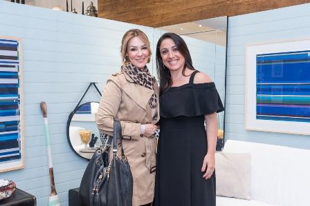 Cristina Japiassu  e Monica Kochen