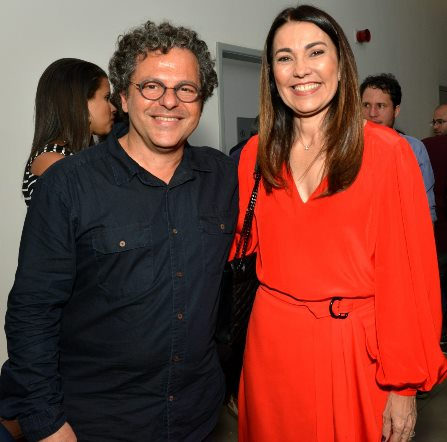 O curador Renato Imbroisi e a vice governadora do Piauí Margarete Coelho