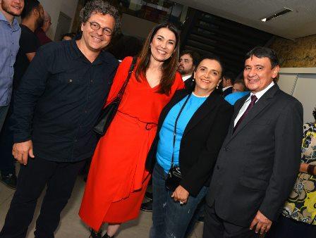 Renato Imbrosi , Margarete Coelho , Girlei Oliveira e Wellington Dias