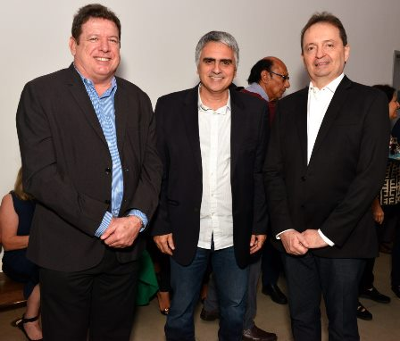 Ulysses Moraes , Cezar Vasquez e Jsus EliasTajra