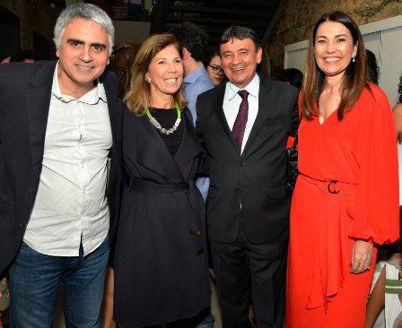 Cezar Vasquez , Maria Lucia Horta , Wellington Dias e Margaete Coelho