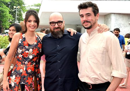 Carla Quevedo , Felipe Hirsch e Javier Drolas