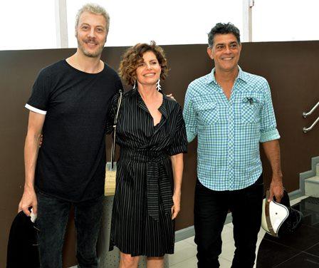 Guilherme Weber , Debora Bloch e Eduar Moscóvis